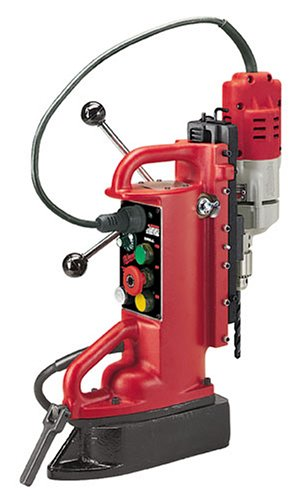 1 Electromagnetic Drill Press - Milwaukee 4204-1 7.2 Amp Electromagnetic Drill Press with 1/2-Inch Motor and Chuck