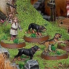 Hobbits Granjero Maggot & Dogs [06-72] [Importado de Alemania]