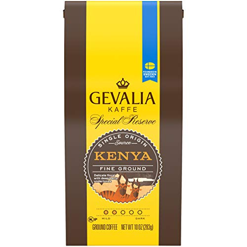 (Gevalia Kenya Fine Ground Coffee (10 oz Bag))