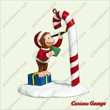 Color Me Curious Curious George Hallmark Ornament