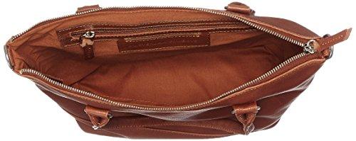 AMSTERDAM COWBOYS Damen Bag Swindon Schultertaschen, Einheitsgröße Braun (Cognac 300)