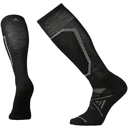 SmartWool Phd - Calcetines de esquí para Hombre, Hombre, Color Negro, tamaño Small