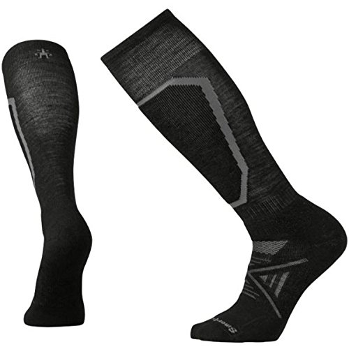 Smartwool Men's PhD Ski Socks, Black, Large