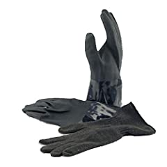 These Rolock Drygloves (size Medium) are suitable for use in any environment and provide excellent abrasion resistance for long life. They are seamless black PVC (Polyvinyl chloride) material and are impervious to all liquids making it...
