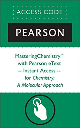Masteringchemistry with pearson etext instant access for masteringchemistry with pearson etext instant access for chemistry a molecular approach 3rd edition kindle edition fandeluxe Choice Image