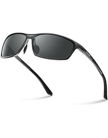 651d7951bef5 PAERDE Men s Polarized Sports Sunglasses for men Driving Cycling Fishing  Golf Running Metal Frame Sun Glasses