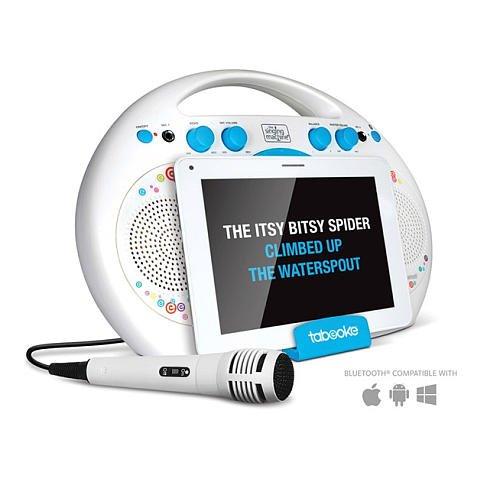singing machine tabeoke portable bluetooth karaoke player