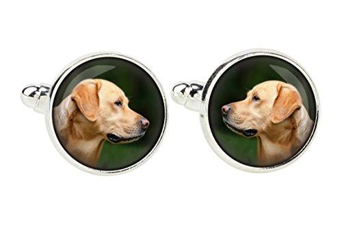 Labrador Retriever, Cufflinks for Dog Lovers, Photo-Jewelry, Jewelry for Men, Handmade