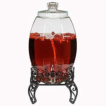 Grifo lavaboMengzhi fuente latas de vino de vidrio sin plomo con ...