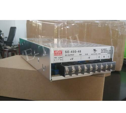 Utini High Reliability Switching Power Supply Stepper Power 450W 48V 9.4A SE-450-48 for Communication CNC Control
