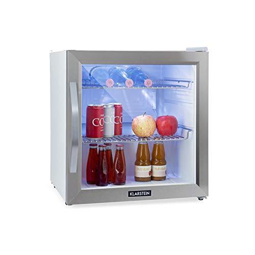 Klarstein Beersafe L Crystal White Kühlschrank Mit Glastür Mini