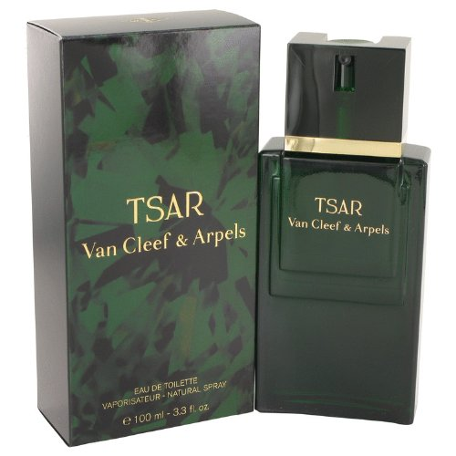 TSAR by Van Cleef & Arpels Men's Eau De Toilette Spray 3.3 oz - 100% Authentic (Eau Van Toilette Cinnamon Cleef De)
