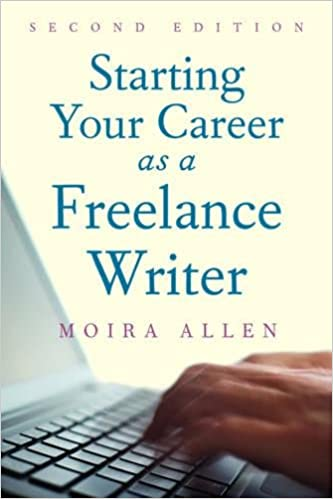 amazon com starting your career as a lance writer  amazon com starting your career as a lance writer 9781581157604 moira anderson allen books