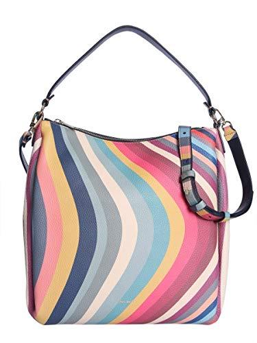 Paul Smith Women's W1a5693aswirl90 Multicolor Leather Shoulder Bag