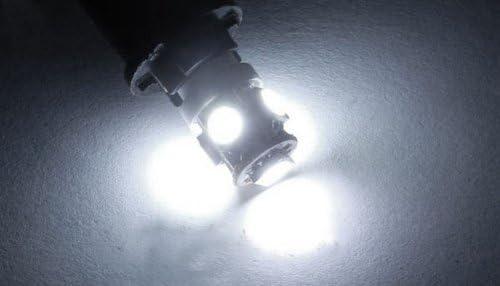 White Quaant LED Car Light,Car-styling KAKUDER 10 x T11 BA9S White 5 LED 5050 SMD Car Wedge Side Light Lamp Bulb 12V td0105 dropship