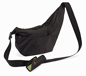 Amazon.com : Lowepro Passport Sling DSLR Camera Bag : Camera Cases ...