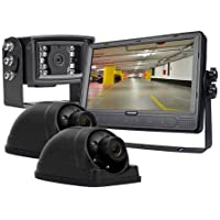 3-Camera Vehicle Viewing Kit with 9 in LCD Monitor