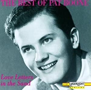 love letters in the sand pat boone the best of pat boone letters in the 33233