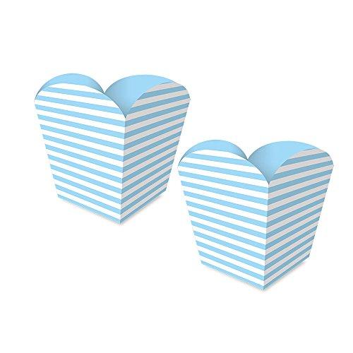 Regina Cachepot Peq Fa R577 Festa Colors Azul Bebe Pacote De 8 unidades