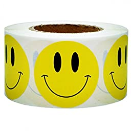 Smart Sticker Yellow Smiley Face Happy Stickers 2\