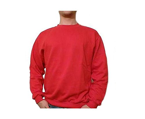 York - Pull - Homme Rouge Rouge