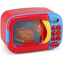 kidzlane Horno de microondas Juguete para Niños accesorios de cocina Pretend Play–Juguete