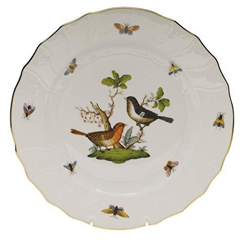 Herend Rothschild Bird Porcelain Dinner Plate Motif #5