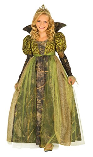 [Rubie's Costume Kids Deluxe Green Forest Queen Costume, Medium] (Vampire Dress For Kids)