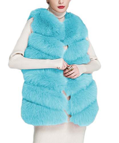 Faux Skyblue Womens Folobe Adult Jacket 'Soft qSOSwtE