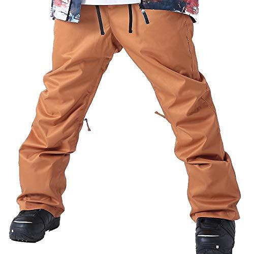 le-Rhythm(リアリズム) スノーボードウェア メンズ パンツ スノーボードウェア パンツ メンズ レディース ユニセックス キャメル M-RM-2P71  S(レディースL)