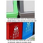 Tapa-basculante-de-Acero-Inoxidable-Cubos-de-Basura-al-Aire-Libre-Clasificados-Contenedor-de-Gran-Capacidad-Contenedores-de-Basura-Basura-Papelera-40L-Basura-y-Reciclaje-Cubos-de-Basura-para-Exterior
