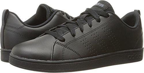 adidas Kids VS Advantage Clean Sneaker, Black/Black/Onix, 4 M US Big Kid