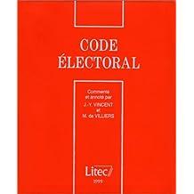 Code électoral, 4e édition (ancienne édition)