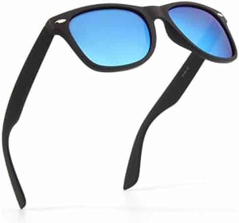 1289126850 SUNIER Polarized 80 s Retro Classic Square Frame Sunglasses Brand Designer  SR003