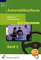 Automobilkaufleute, EURO, Bd.3, Allgemeine Wirtschaftslehre