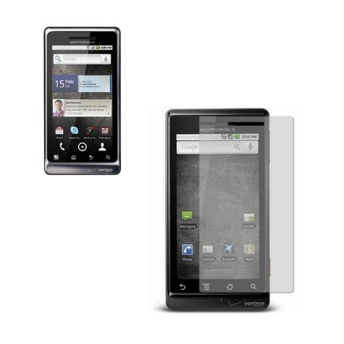 LCD Anti-Grease Screen Protector Anti-Gloss for Motorola Droid 2