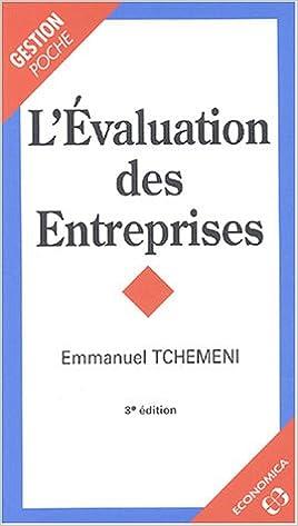 Livres gratuits L'Évaluation des entreprises epub pdf