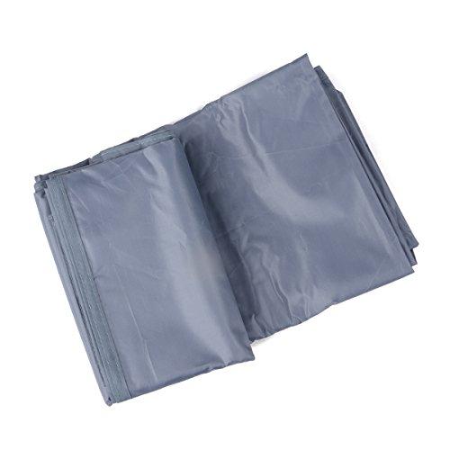 "Triwonder 84.6"" x 84.6"" Outdoor Waterproof Camping Shelter Tent Tarp Footprint Groundsheet Blanket Mat (Grey)"