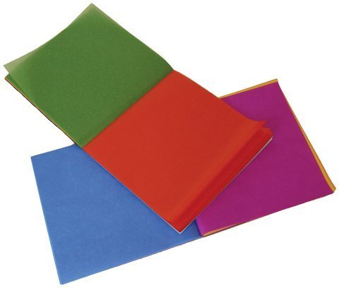 Mercurius Kite Paper, Assorted Colors, 100 Sheets, 6.25