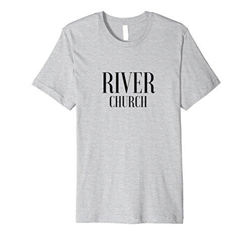 Mens River Merch Original 2 Large Heather Grey