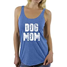 Awkward Styles Women's Dog Mom Racerback Tank Tops Dog Lover Quote Mom of Dogs Gift for Mom