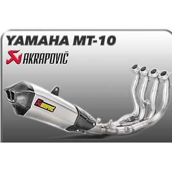Yamaha mt10-16/17-ligne Titanium Exhaust Pipe Silencer