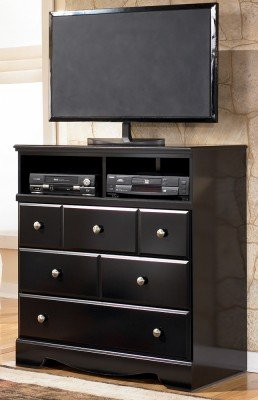 Black Media Chest – Signature Design by Ashley Furniture