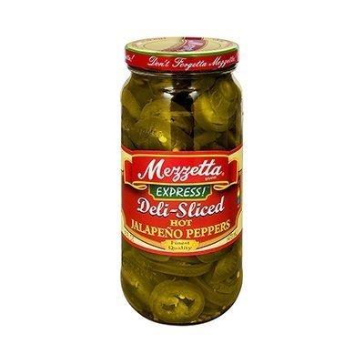 (Mezzetta Deli-Sliced Hot Jalapeno Peppers 16 Oz (Pack of 4))