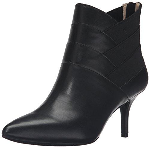ADRIENNE VITTADINI Footwear Womens Sande Ankle Bootie Black 1