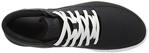 Negro Crocs Talla blanco Botas Hombres wP7qU8a