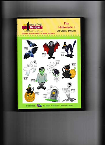 Amazing Designs: Fun Halloween I Embroidery Software