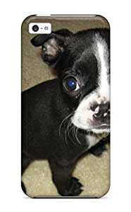 High-end Case Cover Protector For Iphone 5c(boston Terrier Dog )