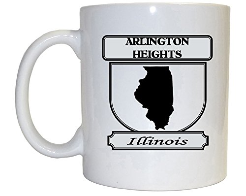 Arlington Heights, Illinois (IL) City Mug (black) (City Of Arlington Heights Il)