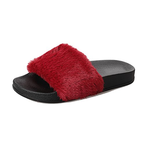 llano Forty como en plana tan zapatos Hogar de fondo plano zapatillas mujer Donyyyy casa cómodo tacón 74ZqOEwc